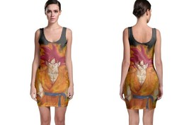Dragon Ball Super Goku Women's Sleevless Bodycon Dress - $21.80+
