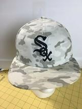 Caps Hats Snap backs White Sox Camo Camouflage Team Cap Hat Baseball - $16.61