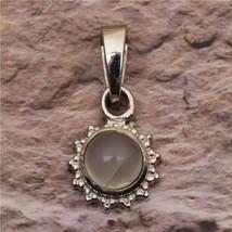 Huge Rainbow Moonstone 925 Sterling Silver Handmade Unisex Pendant Necklace - $9.49