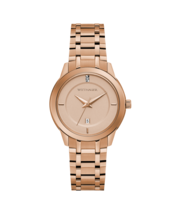 Wittnauer Women Continental Collection Rose Gold tone Watch Diamond WN4104 - $242.55