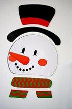 HORROR-HALL Refrigerator Locker Car-Frosty Snowman Puzzle Magnets-Novelt... - $4.96