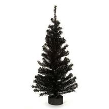 Darice Christmas Canadian Pine Tree with Wood Look Base - 148 Tips - Bla... - $13.99