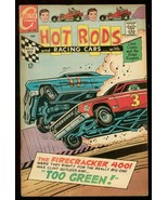 HOT RODS AND RACING CARS #92 1968 NASCAR CRASH COVER VG - $37.83