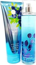 Bath & Body Works Juniper Breeze Body Cream & Fine Fragrance Gift Set of 2 - $23.27