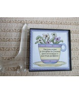 Framed Expressions:  Inspirational Cup of Flowers - $10.00