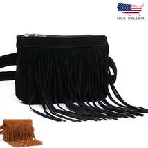 Women Vintage Classic Tassel Waist Fanny Pack Bag Trendy Pouch Purse Wallet - $19.98