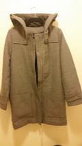 New w/ Tag LACOSTE IZOD Womens Wool Coat Pierre(Granite) in Color Size 4 - $219.99