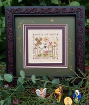 Christmas Sheep Kit christmas cross stitch kit Shepherd's Bush - $20.00