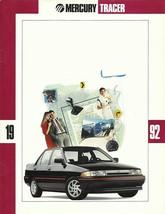 1992 Mercury TRACER sales brochure catalog US 92 LTS - $6.00
