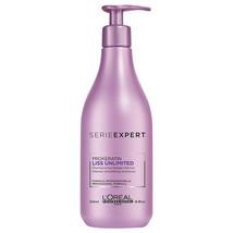 L'Oreal Professionnel Serie Expert Liss Unlimited Shampoo 16.9 fl oz  - $30.02