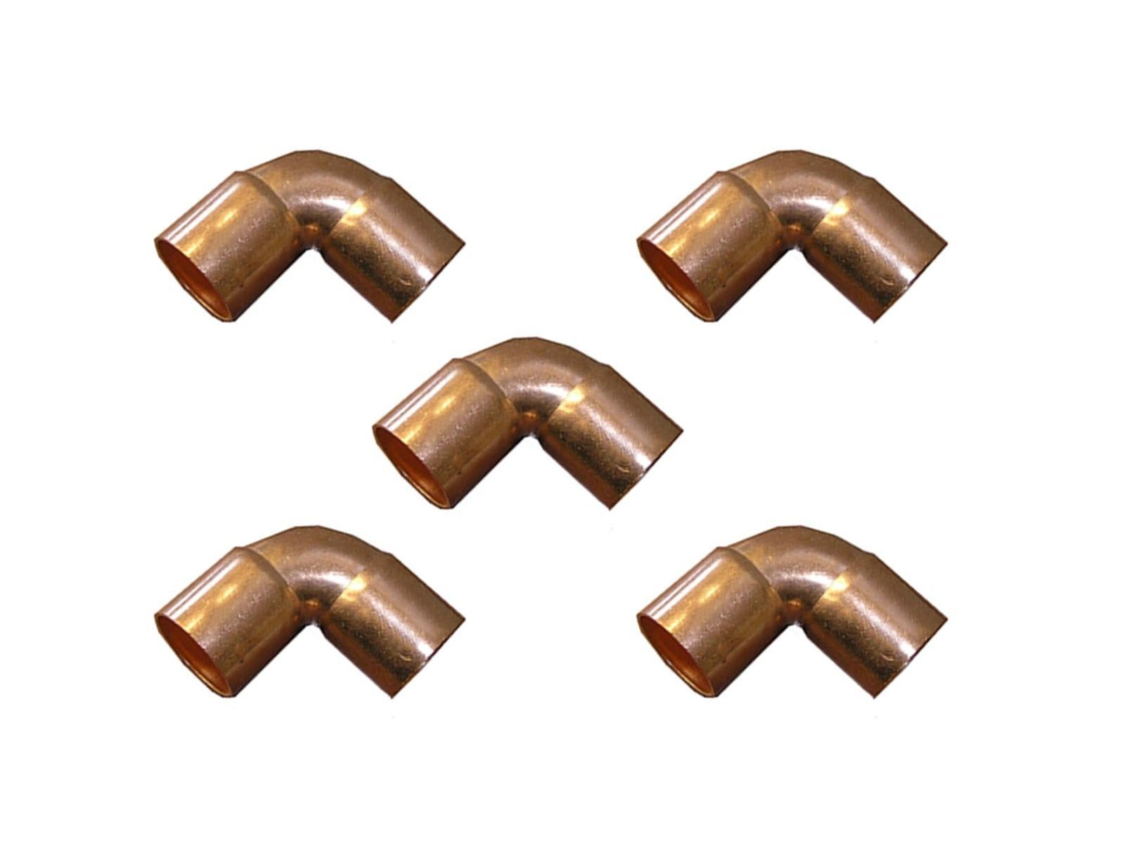 Lot of copper fitting cxc elbow sweat ° degree