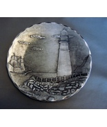 "Pewter Hand Forged 5 1/2"" Lighthouse Plate from American Forging. - $19.99"