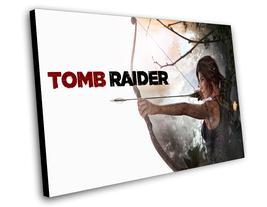 "Tomb Raider Lara Croft 8""x12"" (20cm/30cm) Game Canvas Print - $15.00"