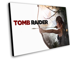 "Tomb Raider Lara Croft  12""x16"" (30cm/40cm) Game Canvas Print - $25.00"
