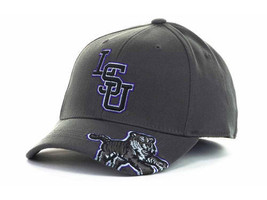 """LSU Tigers NCAA TOW """"All Access"""" Stretch Fitted Hat New - $15.79"""