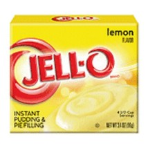 Jell-O Lemon Instant Pudding Dessert Mix - $5.73