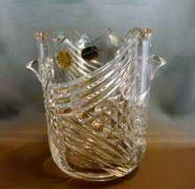 Martin Fait Designed Bohemian Crystal Champagne- Wine Ice Bucket - $19.99