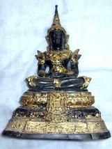 SO Rare! Big Phra Kaew-Zong-Krueng Statue Magic Thai Buddha Amulets Last Left - $99.99