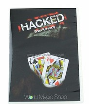 Hacked By Brian Kennedy Magic Trick Gimmick Card Close Up Magic Free Shi... - $25.73