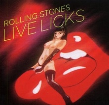 Rolling Stones Live Licks 2Cd (2004) Explicit Cover Germany - $18.00