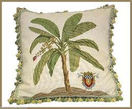 High End Banana Needlepoint Pillow - $246.00