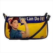 Feminist You Can Do It Shoulder Clutch Handbag & Mini Coin Purse - $6.78+