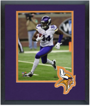 Cordarrelle Patterson Minnesota Vikings Run -11x14 Team Logo Matted/Framed Photo - $43.55