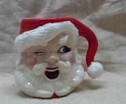 Vintage Santa Claus Coffee Mug // Decorative Christmas Cup // Handled Cup - $7.00