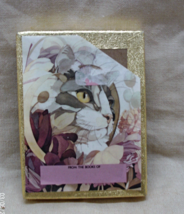 Vintage Antioch Bookplate Company Cat & Flowers Book Plates // Made in USA - $10.00