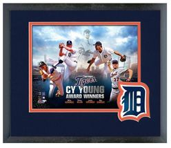 "Detroit Tigers Cy Young Winners  - 11"" x 14"" Framed & Matted Photo - $43.95"