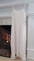Free People Intimately Ivory Slip Dress Size Small Retail $88.00 - $42.00