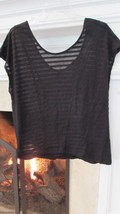 BCBGeneration Black Sleeveless Oversized Blouse Sz Small Retail $58.00 - $23.00