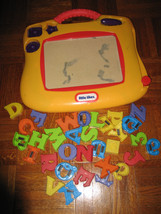 Little Tikes Double Sided Doodle Board Etch A Sketch & Chalk Board + Mag... - $14.95