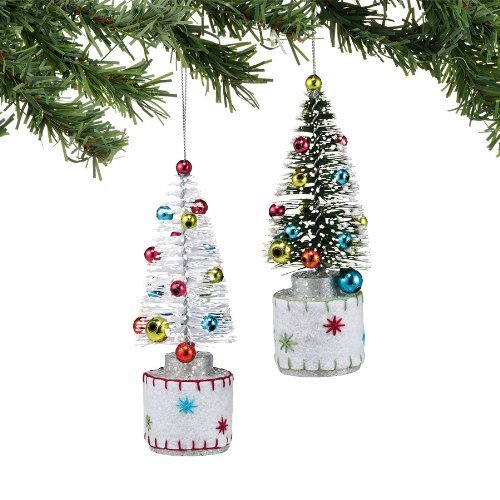 Department 56 Winter White Frosty Tree Ornament [Kitchen]