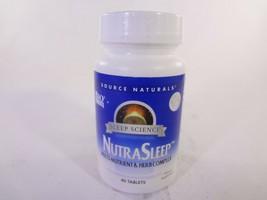 Source Naturals Sleep Science NutraSleep 40 Tablets [VS_S] - $10.40