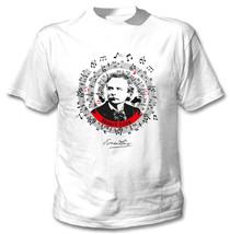 Edvard Grieg - New Cotton White Tshirt - $24.06