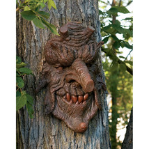 """14"""" Greenman Mystical Character Tree People Poi... - $57.87"""