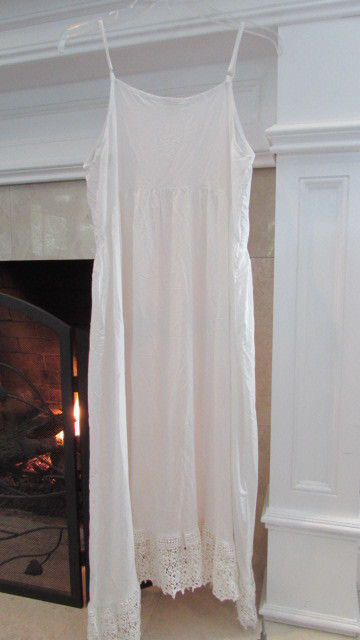 Free People Intimately Ivory Slip Dress Size Small Retail $88.00