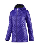 ADIDAS ORIGINALS WOMEN'S 'FEM PADDED PARKA' PURPLE COAT JACKET QUILTED R... - $76.75