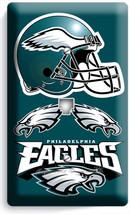 Philadelphia Eagles Football Telephone Phone Jack Cover Plate Boys Room Man Cave - $9.89