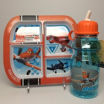 Planes Plate And Water Bottle Set. - $13.95