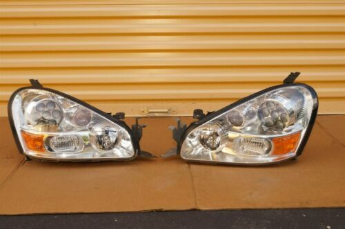 05-06 Infiniti Q45 F50 HID XENON HeadLight Lamps Set L&R