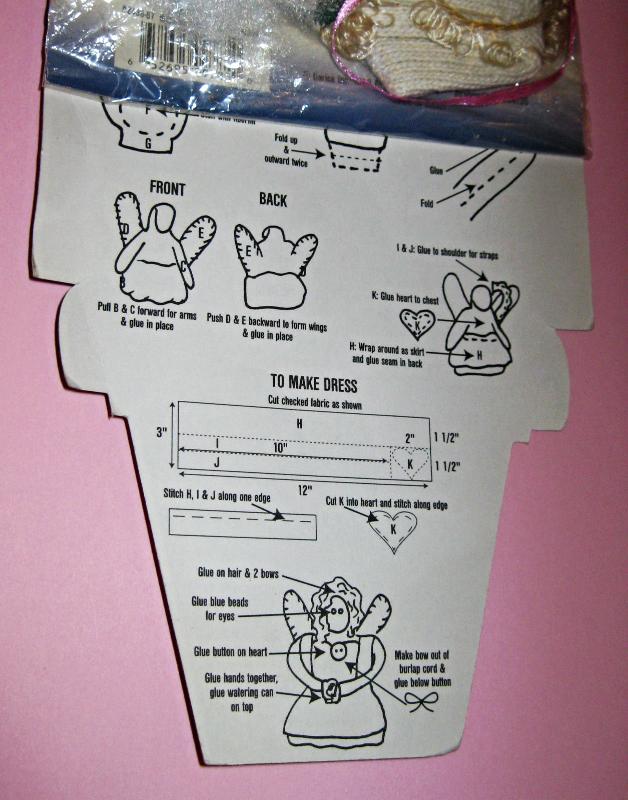 Garden Patch Glove Dolls Annabelle Angel Craft Kit