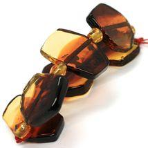Bracelet Antica Murrina Venezia, Murano Glass, Chip Large Colour Amber image 3