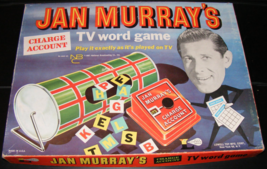 1961 Jan Murray's Charge Account TV Word Game by Lowell - $60.00