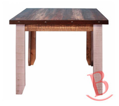 Rustic Eric 42in Counter Height Dining Table Real High Quality Wood - $737.55