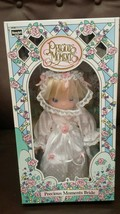 "New Precious Moments bride 10"" April K Mart Exc... - $21.46"