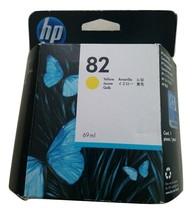 HP 82, (C4913A) 69-ml Yellow Original DesignJet Ink Cartridge - $14.24