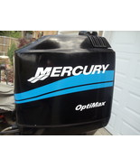 "MERCURY BOAT MOTOR COWL DECAL SET ""Your Choice of HP Rating"" Saltwater Edition - $44.95"