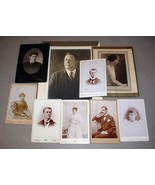 Chase Family (9) Antique Photos - Somerville, Boston, Harwich Centre MA - $157.50